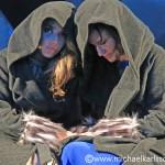 Gina Dirawi och Petra Mede